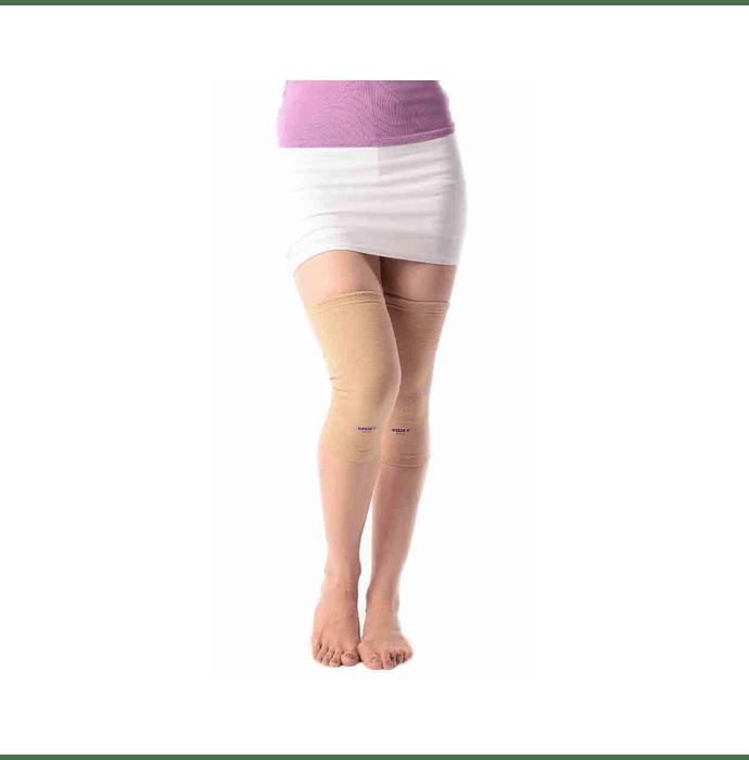 Vissco 0705 Elastic Tubular Knee Cap L Beige