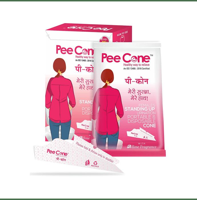 Pee Cone Intimate Female Urination Device