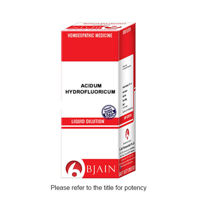 Bjain Acidum Hydrofluoricum Dilution 1000 CH