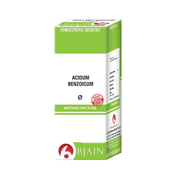 Bjain ACIDUM BENZOICUM Mother Tincture Q