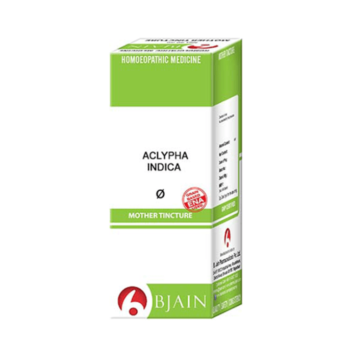 Bjain Aclypha Indica Mother Tincture Q