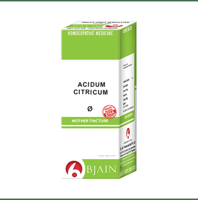 Bjain Acidum Citricum Mother Tincture Q