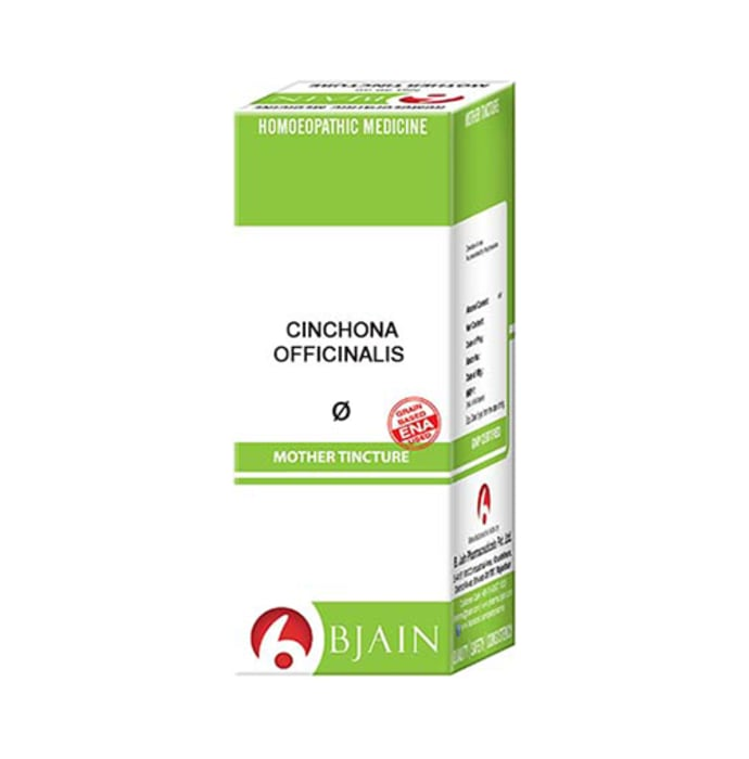 Bjain Cinchona Officinalis Mother Tincture Q