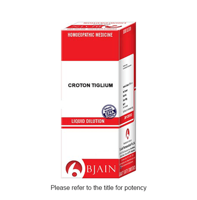 Bjain Croton Tiglium Dilution 1000 CH