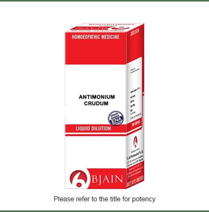 Bjain Antimonium Crudum Dilution 1000 CH