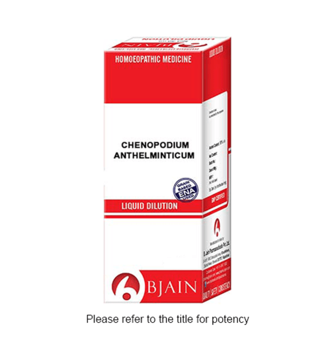 Bjain Chenopodium Anthelminticum Dilution 6 CH