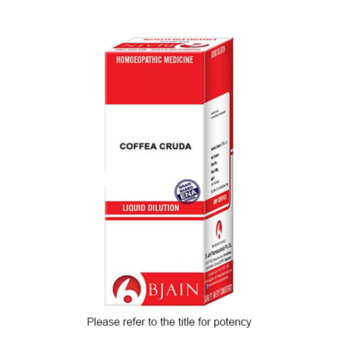 Bjain Coffea Cruda Dilution 12 CH
