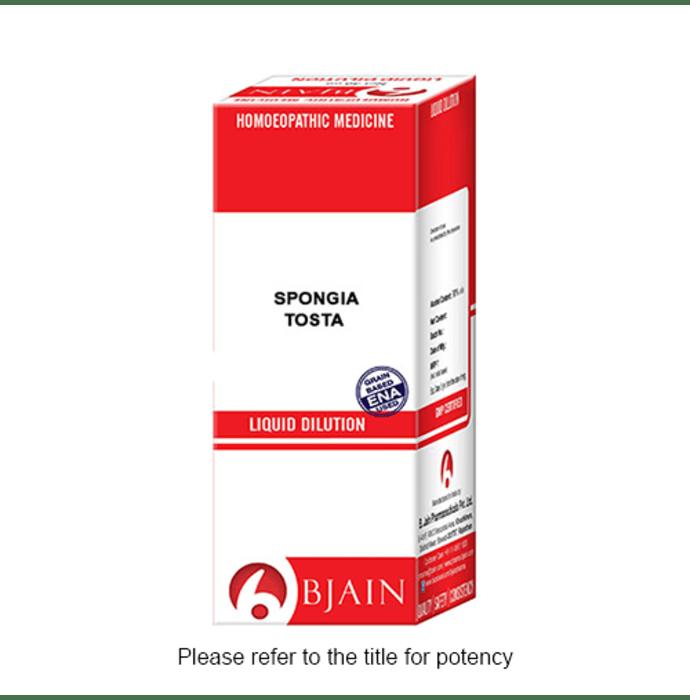 Bjain Spongia Tosta Dilution 6X