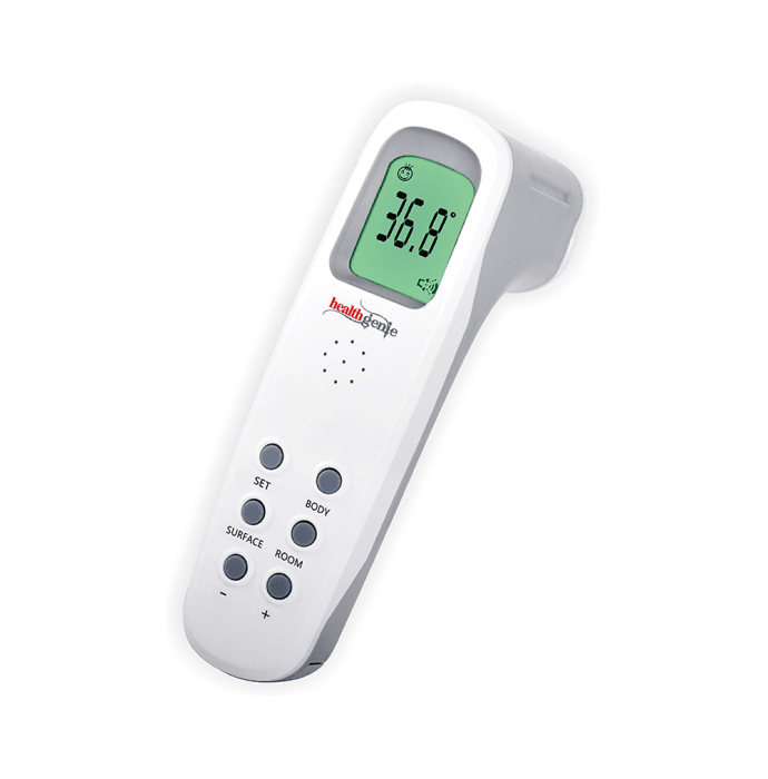 Healthgenie Digital Infrared Talking Non-Contact Forehead Thermometer
