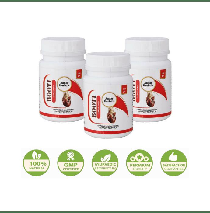Aadar Herbals Booti Powder Pack of 3