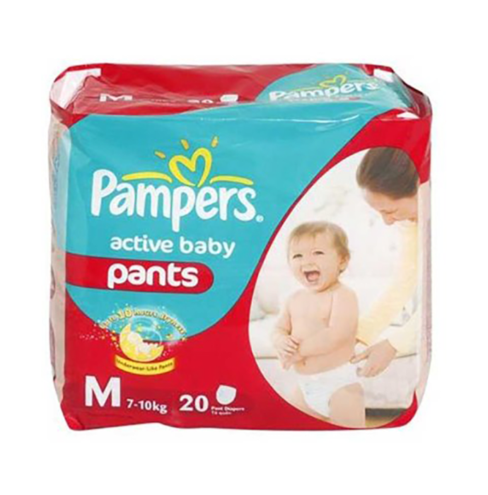 Pampers Active Baby Pants Diaper M