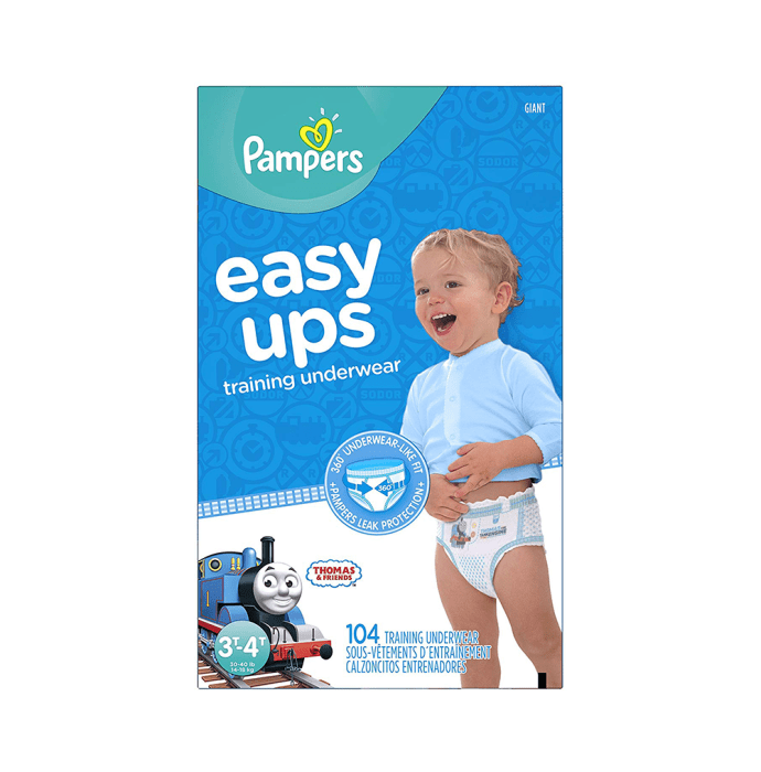 Pampers Easy Up Training Underwear for Boys Size 5