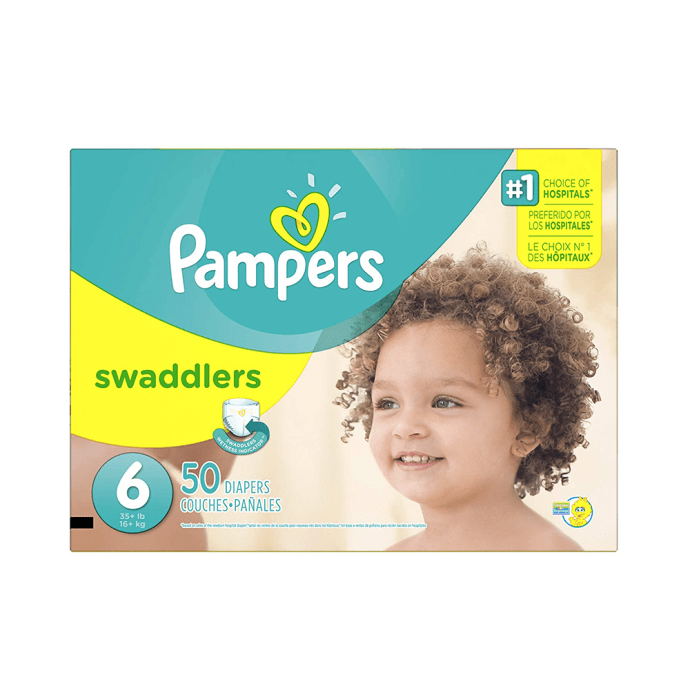 Pampers Swaddlers Diaper Size 6