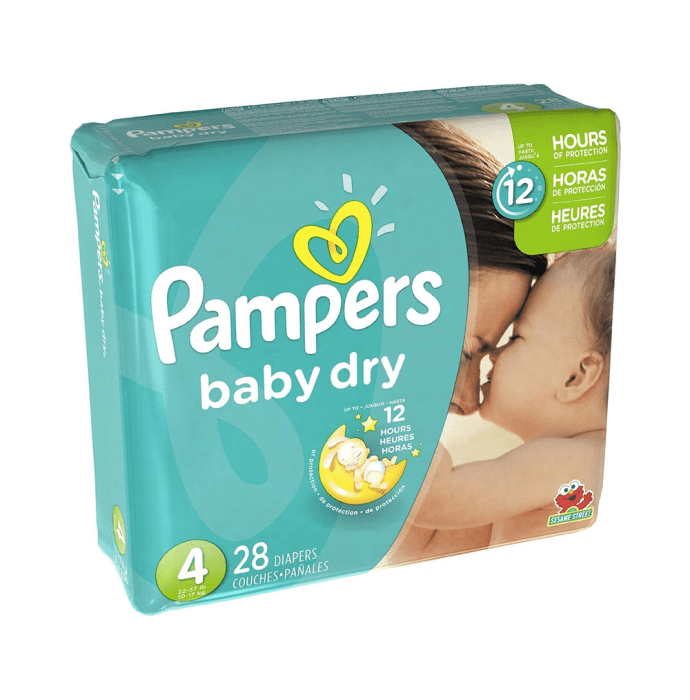 Pampers Baby Dry Diaper Size 4