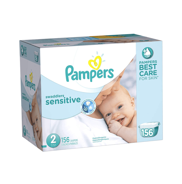 Pampers Swaddlers Sensitive Diaper Size 2