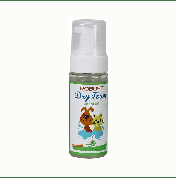 Robust Dry Foam Shampoo with Aloe Vera