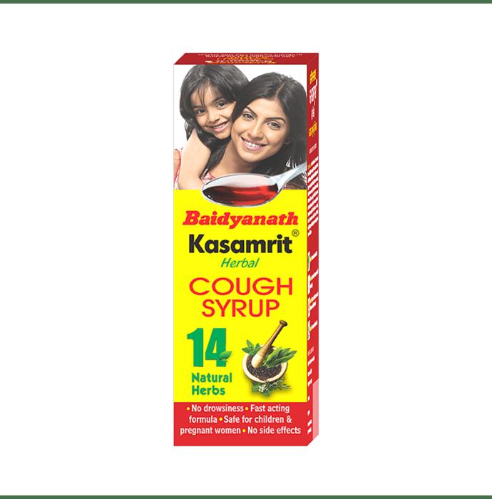 Baidyanath Kasamrit Herbal Syrup Pack of 2