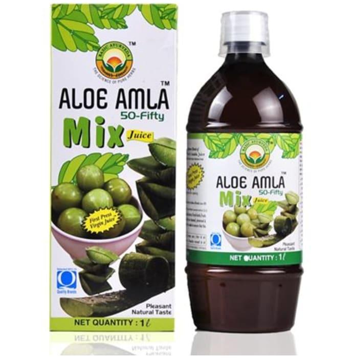 Basic Ayurveda Aloe Amla 50-50 Juice
