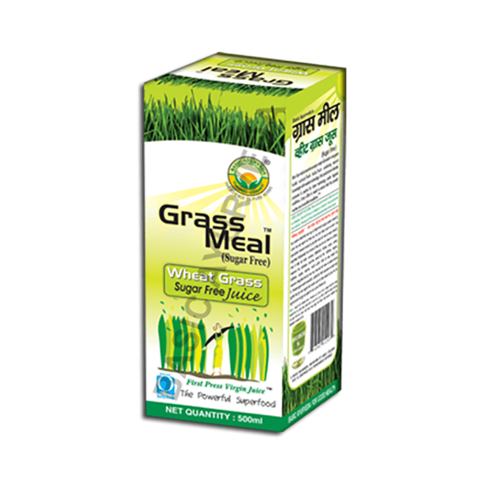 Basic Ayurveda Grass Meal Wheat Grass Juice Sugar Free