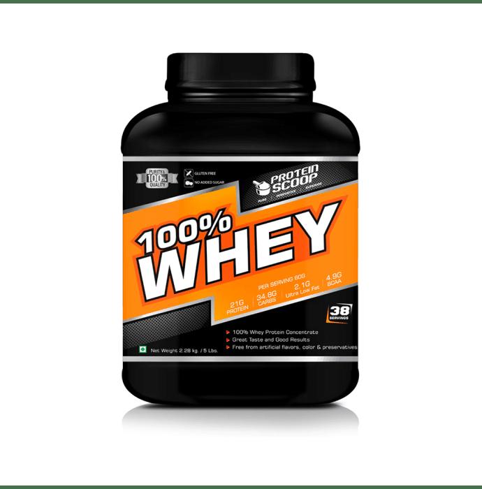Protein Scoop 100% Whey Vanilla