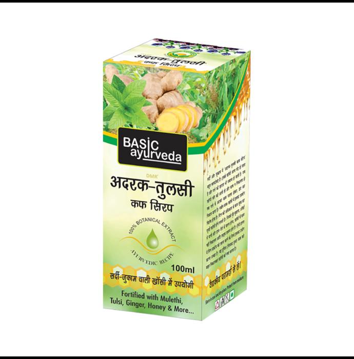 Basic Ayurveda Adrak Tulsi Cough Syrup