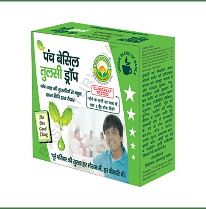 Basic Ayurveda Panch Basil Tulsi Drop
