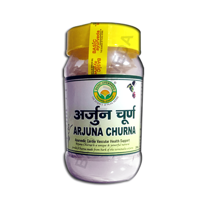 Basic Ayurveda Arjuna Churna Pack of 2