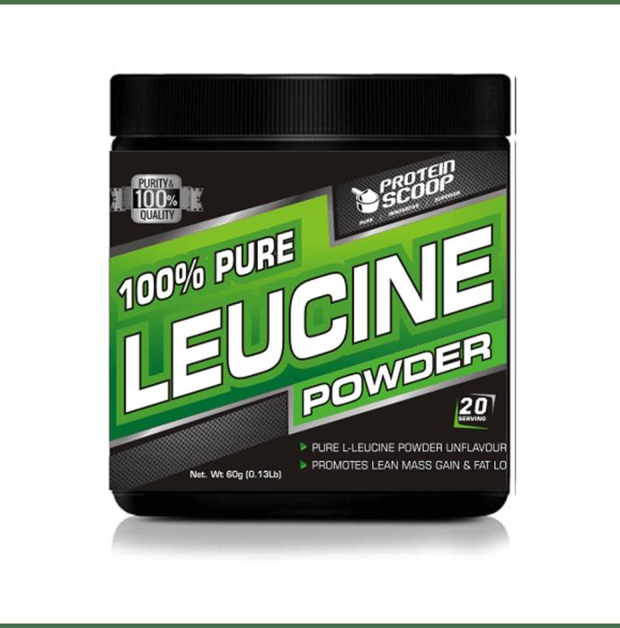 Protein Scoop 100% Pure Leucine Powder Unflavoured