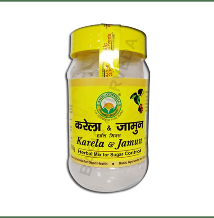Basic Ayurveda Karela Jamun Herbal Mix Powder