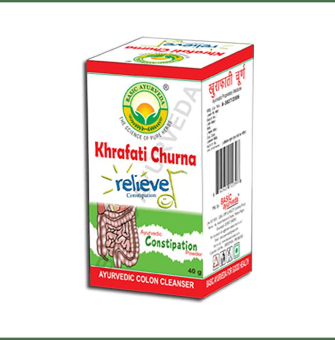 Basic Ayurveda Khrafati Churna Pack of 2