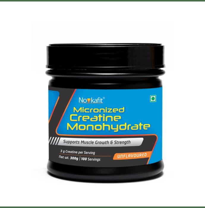 Novkafit Micronized Creatine Monohydrate Powder Unflavoured