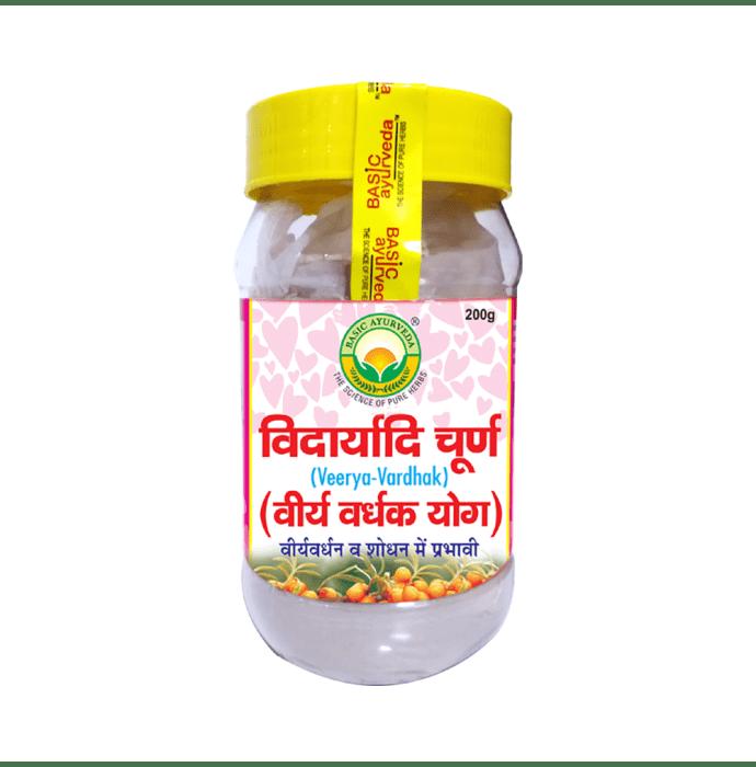 Basic Ayurveda Vidaryadi Churna