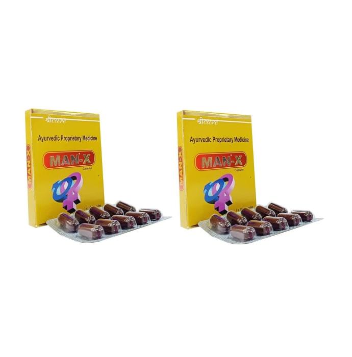 Sricure Man-X Viagra Capsule Pack of 2