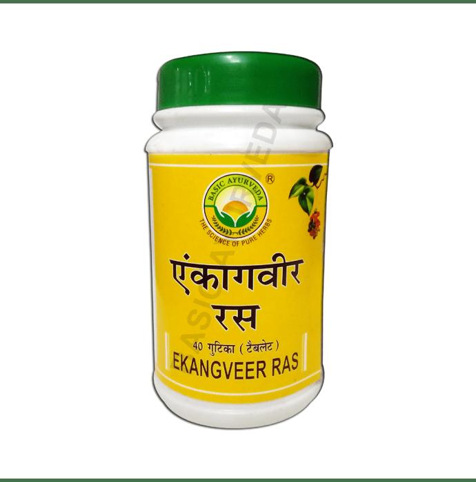 Basic Ayurveda Ekangveer Ras Pack of 2
