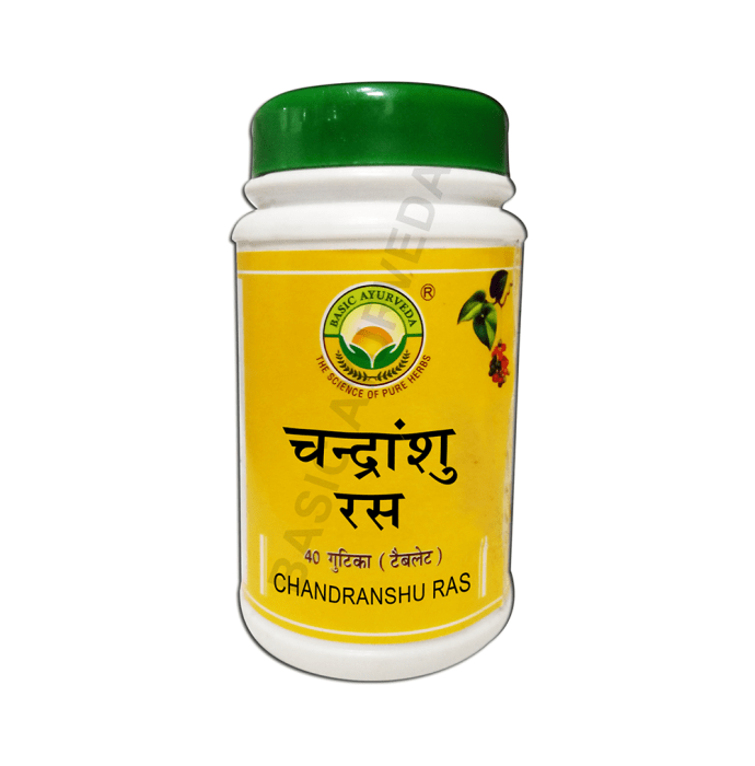 Basic Ayurveda Chandranshu Ras Pack of 2