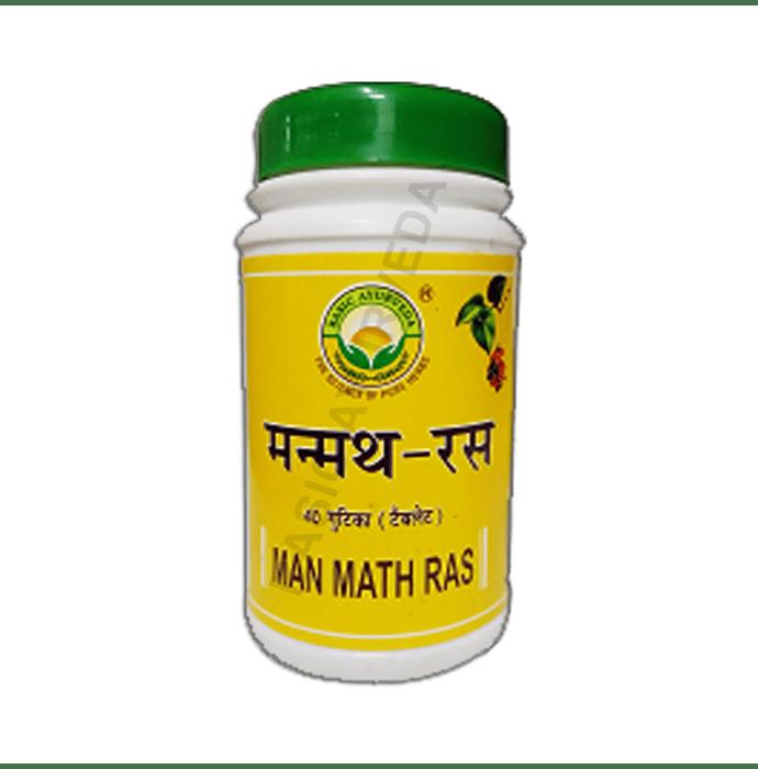 Basic Ayurveda Man Math Ras Tablet