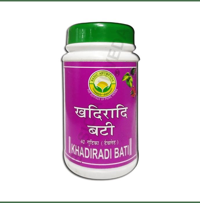 Basic Ayurveda Khadiradi Bati