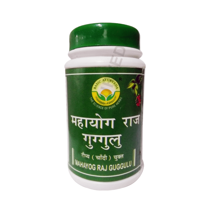 Basic Ayurveda Maha Yograj Guggulu Tablet