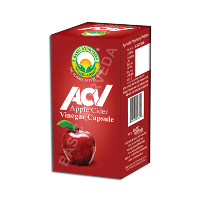 Basic Ayurveda Apple Cider Vinegar Capsule
