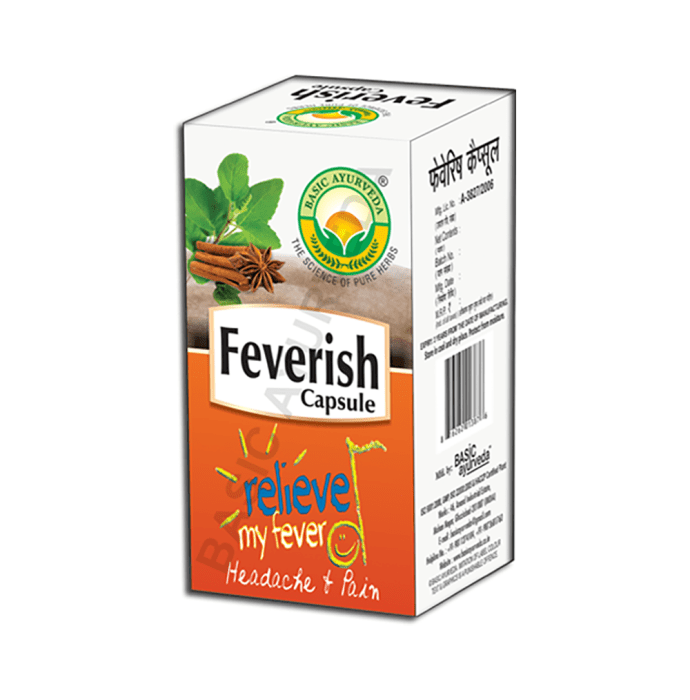 Basic Ayurveda Feverish Capsule