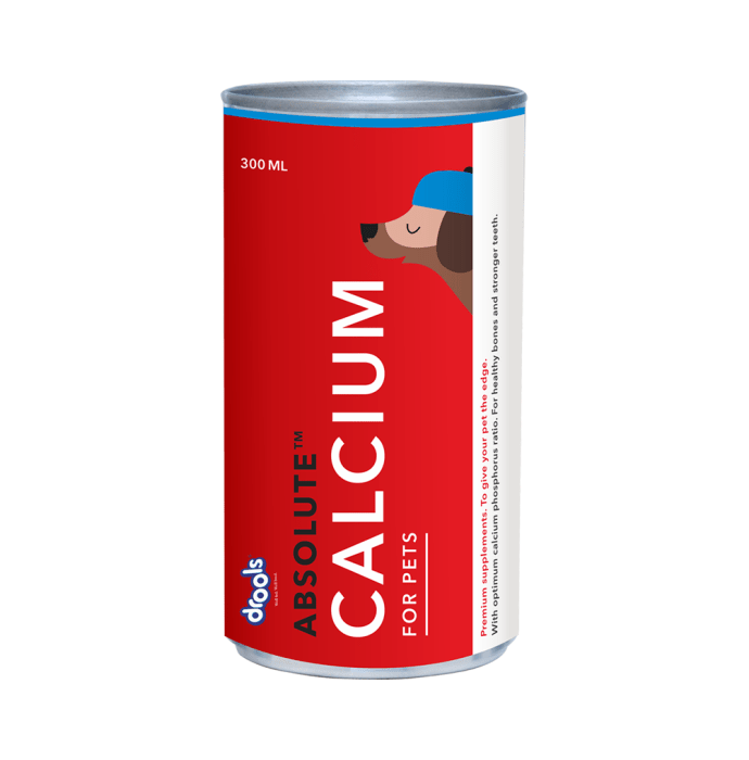 Drools Absolute Calcium Syrup - Dog Supplement