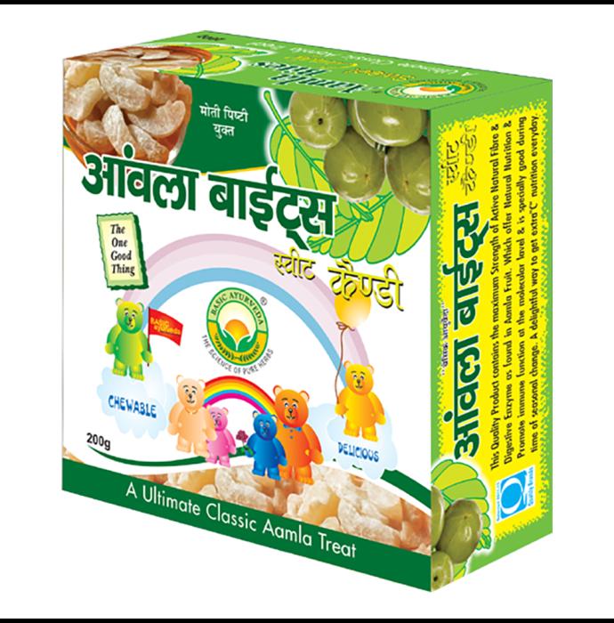 Basic Ayurveda Aamla Bite Sweet Candy