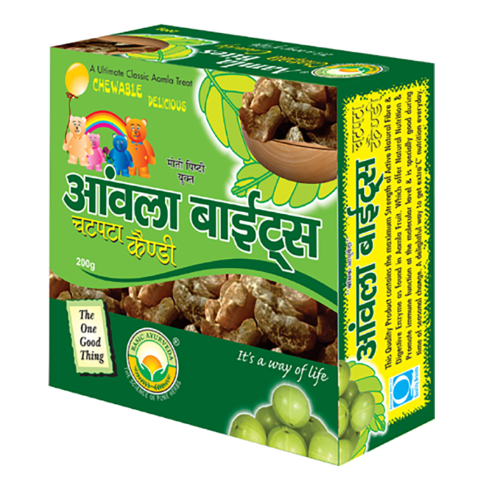 Basic Ayurveda Aamla Bite Chatpata Candy Pack of 2