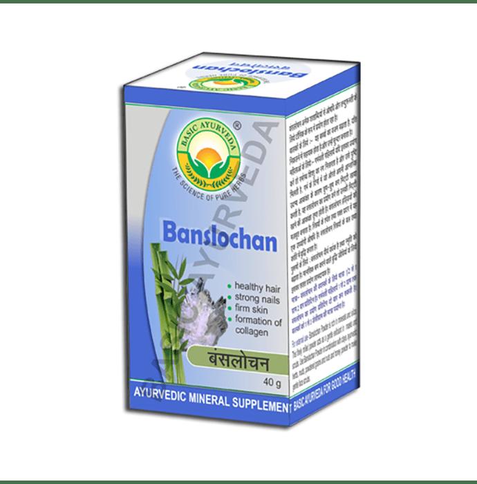 Basic Ayurveda Banshlochan