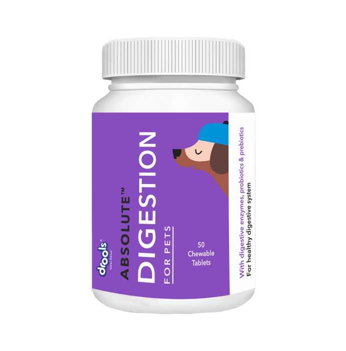 Drools Absolute Digestive Tablet - Dog Supplement