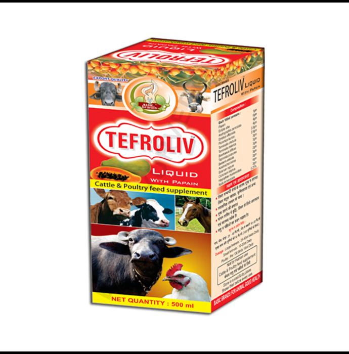 Basic Ayurveda Tefroliv Liquid Pack of 2