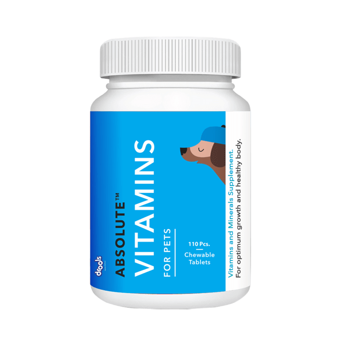 Drools Absolute Vitamin Tablet - Dog Supplement