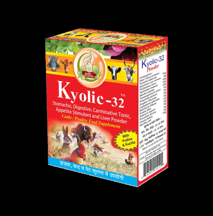 Basic Ayurveda Kyolic-32 Powder Pack of 3