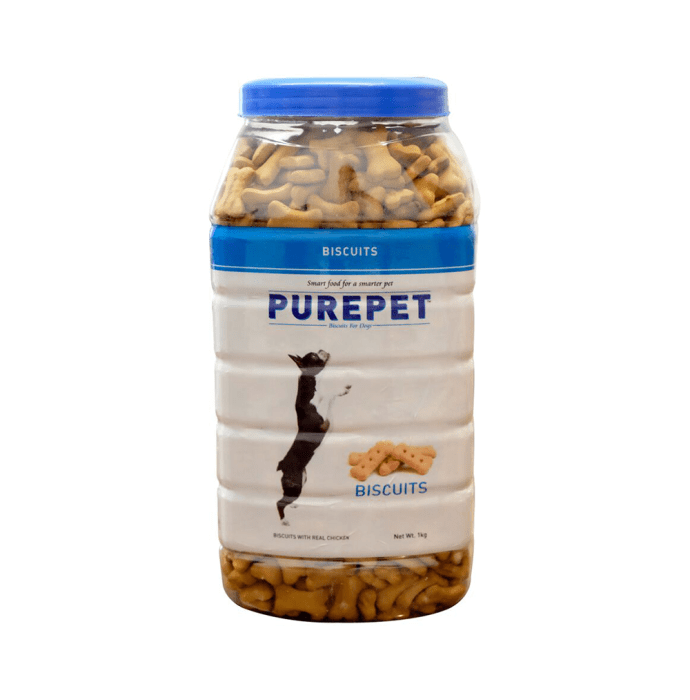 Purepet Real Chicken Biscuit, Dog Treats Milk