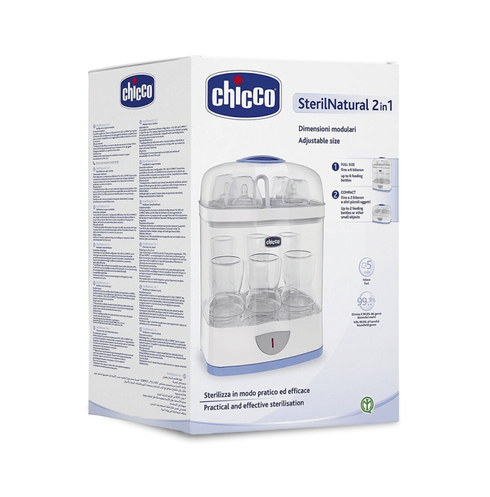 Chicco Steril Natural 2 in 1 Sterlizer